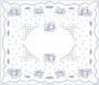 Ubrusy - 140x120cm