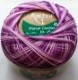 Anchor Artiste Crochet - žíhaná - fialovo-bílá