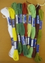 Bavlnky ke gobelínu - 2252 - květináč - fialky
