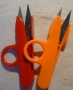 Dlaňové nůžky s ouškem