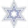 Hvězda s ozdobami
