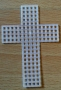 Kříž - 5,5x7,5 cm