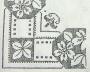 Křížk.vzor + květy