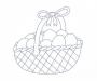 Košík s vajíčky