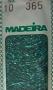 Madeira 10 - tyrkysová tmavá