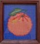 Mandarinka s pozadím