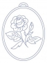 Ovál - růže