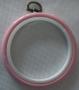 Růžový - kulatý - 7,5 cm