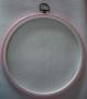 Růžový - kulatý - 22 cm