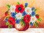 Váza - luční kvítí