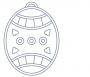 Vajíčko s ornamenty 2