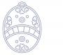 Vajíčko s ornamenty 5