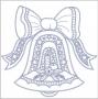 Velký zvonek s mašlí