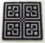 Černobílý ornament I.